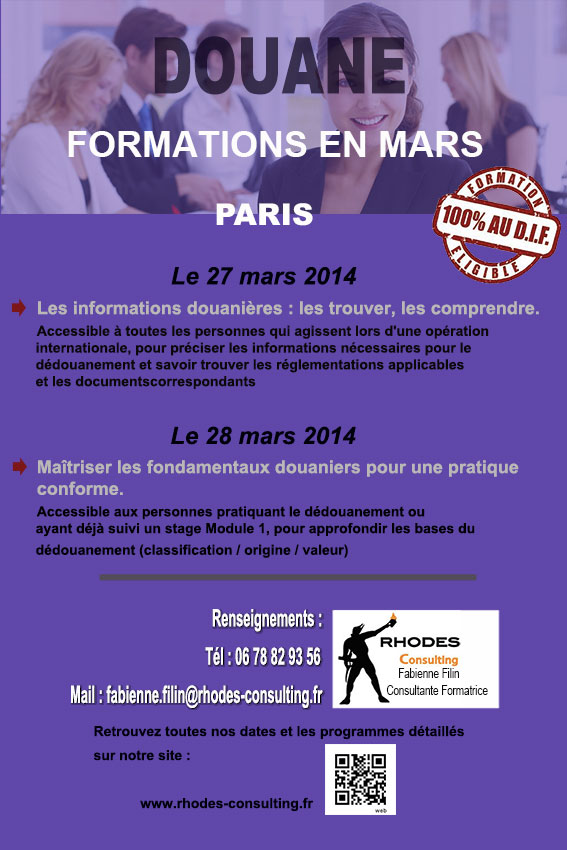 Formation en Douane-Mars-2014-Rhodes-Consulting