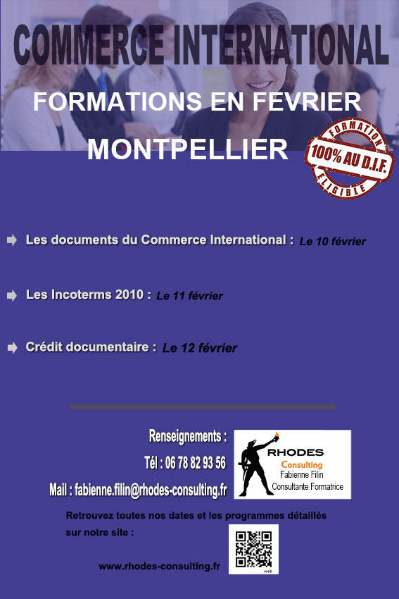 Formations commerce international-Montpellier-février-2014-Rhodes-Consulting