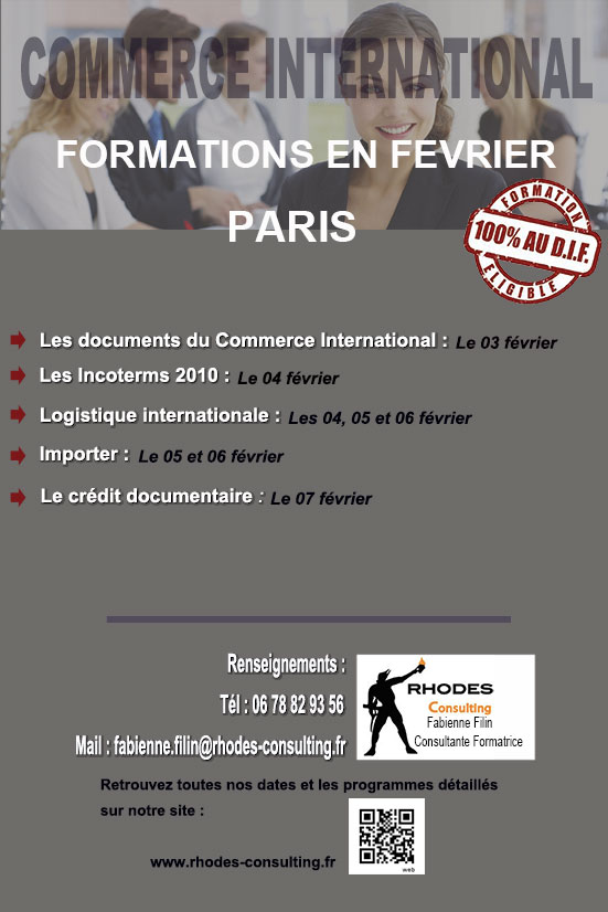 Formations commerce international-Paris-février-2014-Rhodes-Consulting
