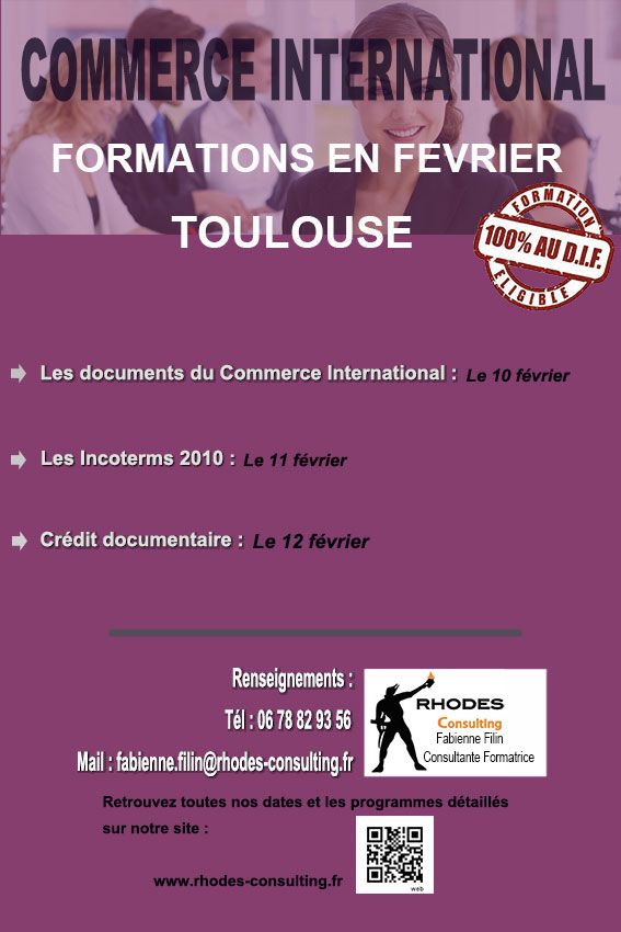 Formations commerce international-Toulouse-février-2014-Rhodes-Consulting