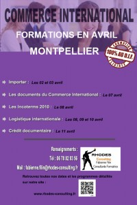 Formation import export en avril Montpellier-2014-Rhodes-Consulting