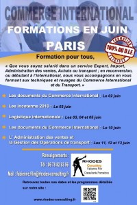 Formation import export Commerce-International-Paris-Juin-Rhodes-Consulting